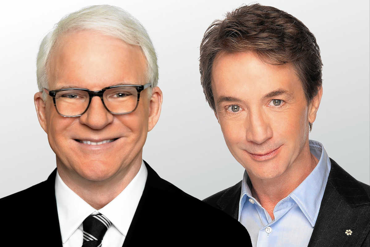 Steve Martin (left) and Martin Short 10/28-29 Academy of Music -- courtesy of the artist.