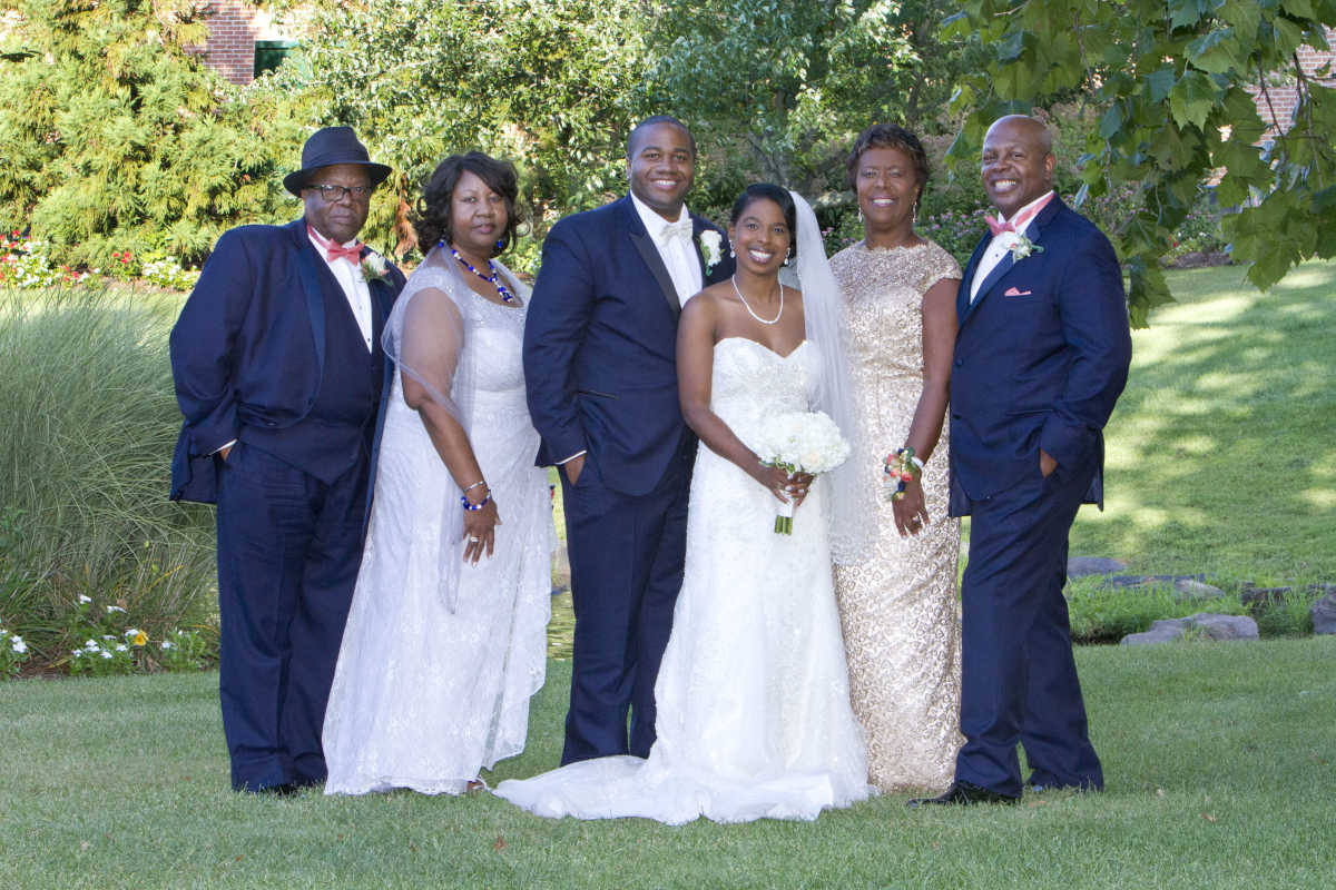 The wedding of Brittany McClinton and Anthony Lewis Jr.