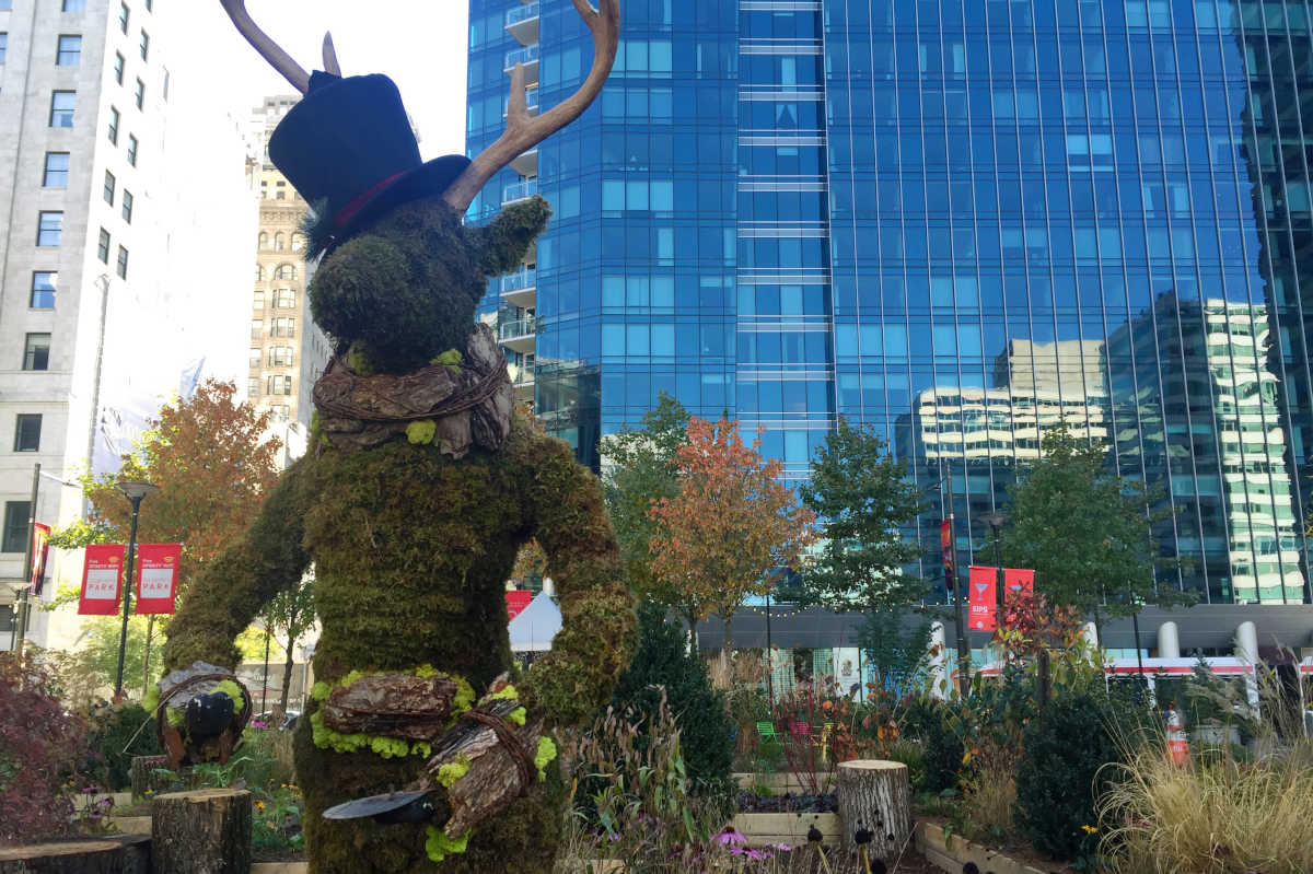 a garden maze happy hours and the other additions to dilworth park