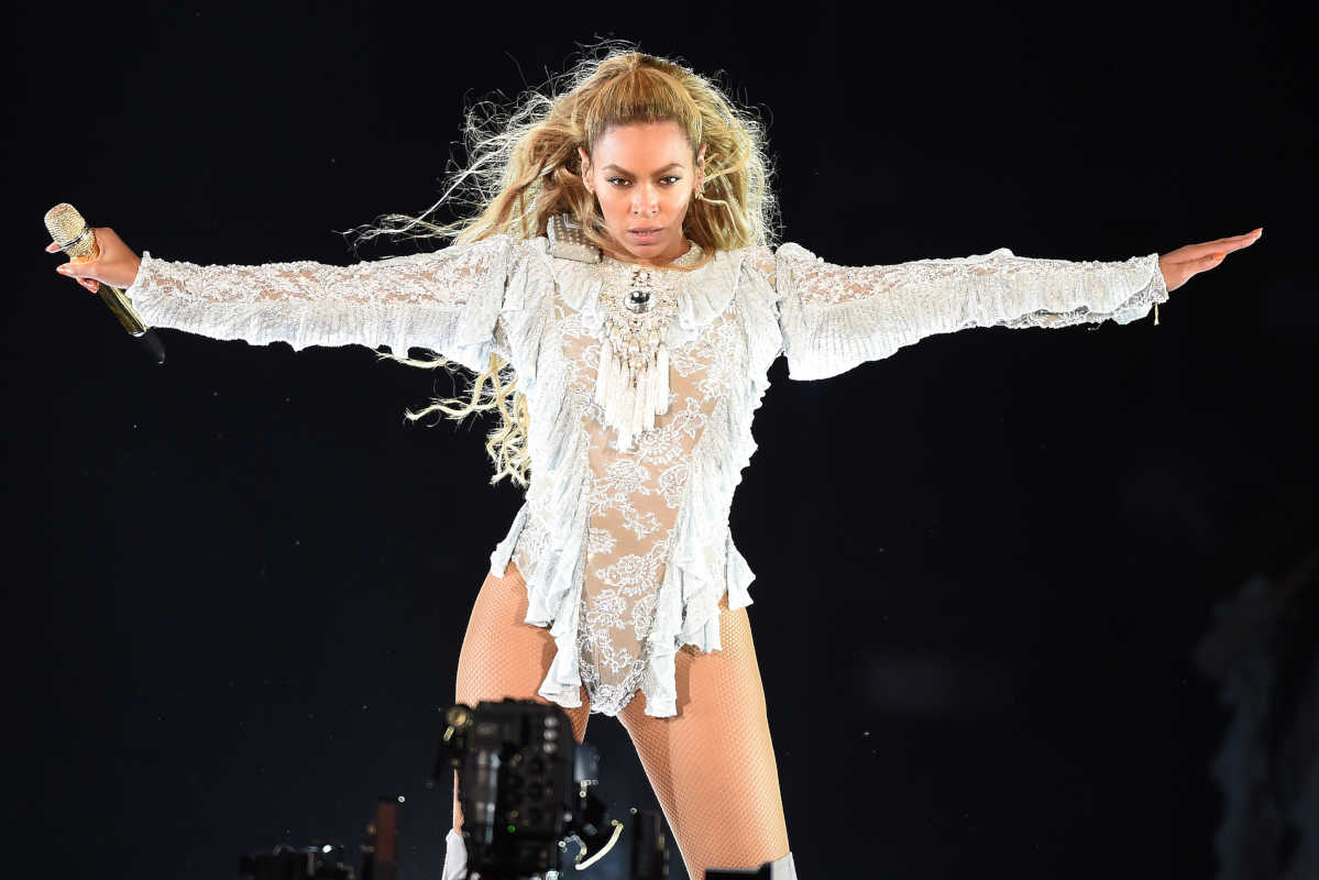 Beyonce performs during the Formation World Tour at Dodger Stadium on Wednesday, Sept. 14, 2016, in Los Angeles. (Frank Micelotta/Parkwood EntertainmentPictureGroup/Sipa USA/TNS)
