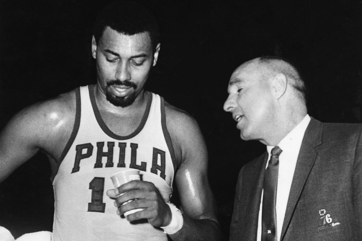 1966 67 Sixers Was Wilt Chamberlain Dippy or The Stilt