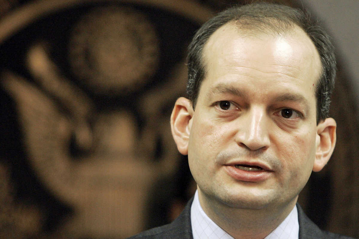 Alexander Acosta will have to move quickly to take action regarding major policies that have been in limbo while the Labor Department has been without leadership for the past three months,