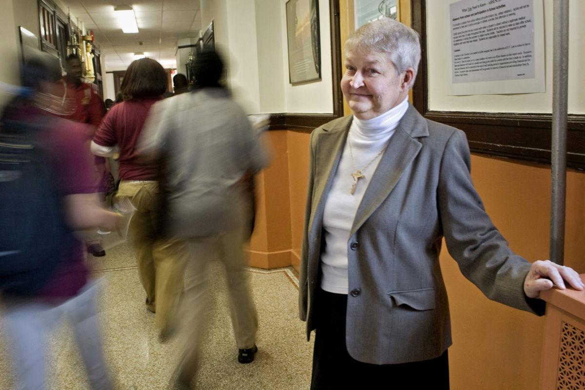 Sister Mary Alan Barszczewski, back in 2008.