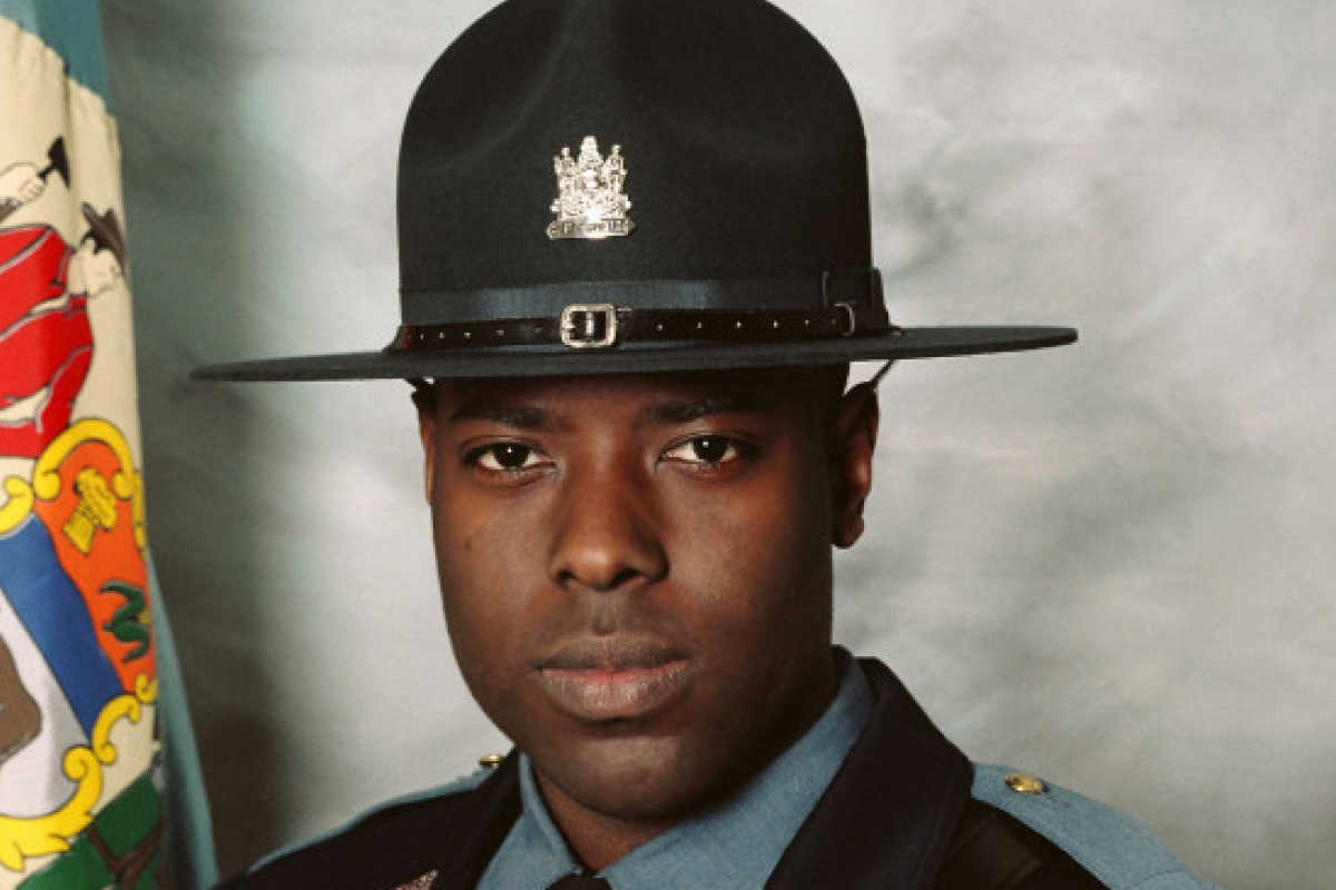 Cpl. Stephen J. Ballard, who was killed in a shooting in a Wawa parking lot near Bear, Del. on Wednesday,.<br />