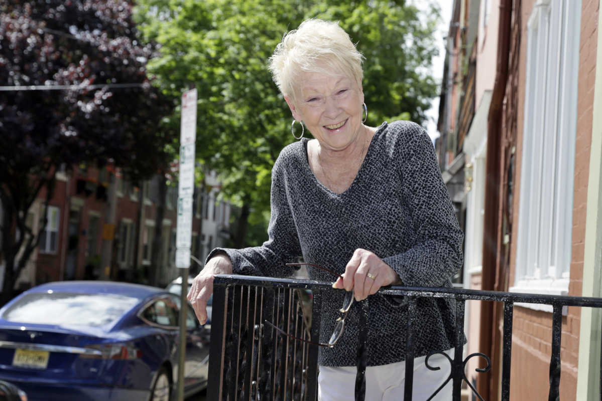 Lillian Drozdowski, &quot;Mayor of Montrose Street,&quot; has lived on the Queen Village street with her husband, Richard, since 1970.<br />