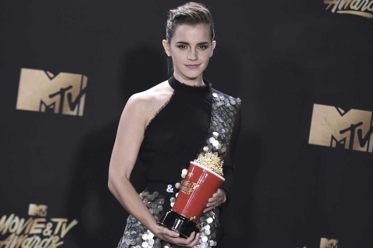 Emma Watson Becomes the Face of Genderlessness after MTV Movie Award