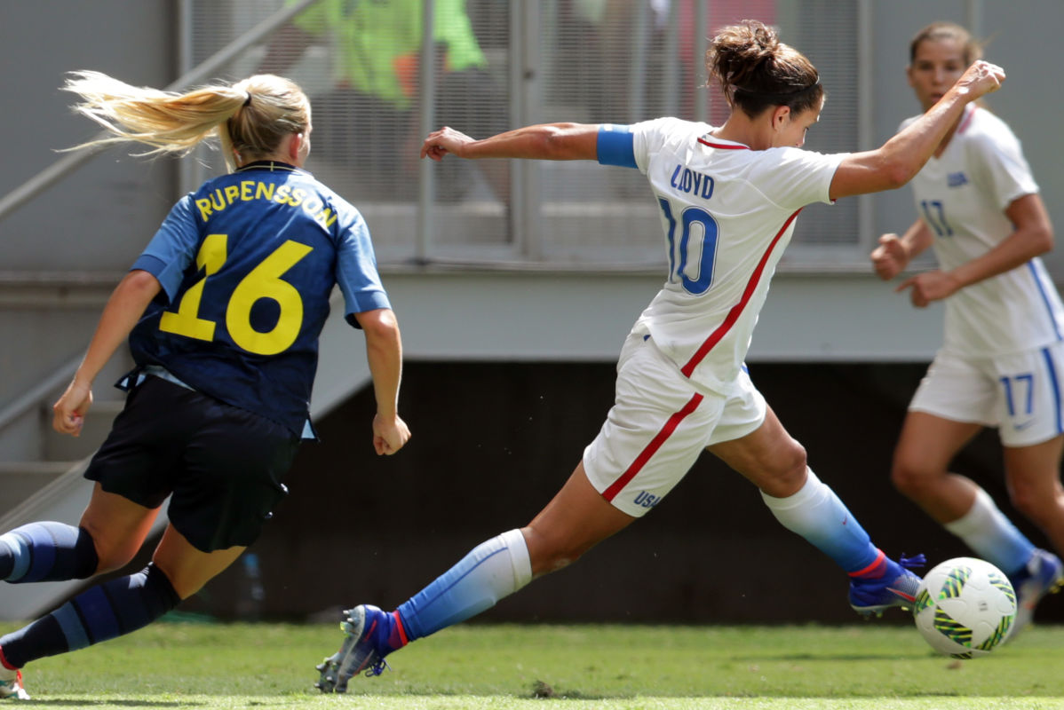 Carli Lloyd and the United States women's national soccer team will face Sweden for the first time since Sweden beat the U.S. at the 2016 Summer Olympics.