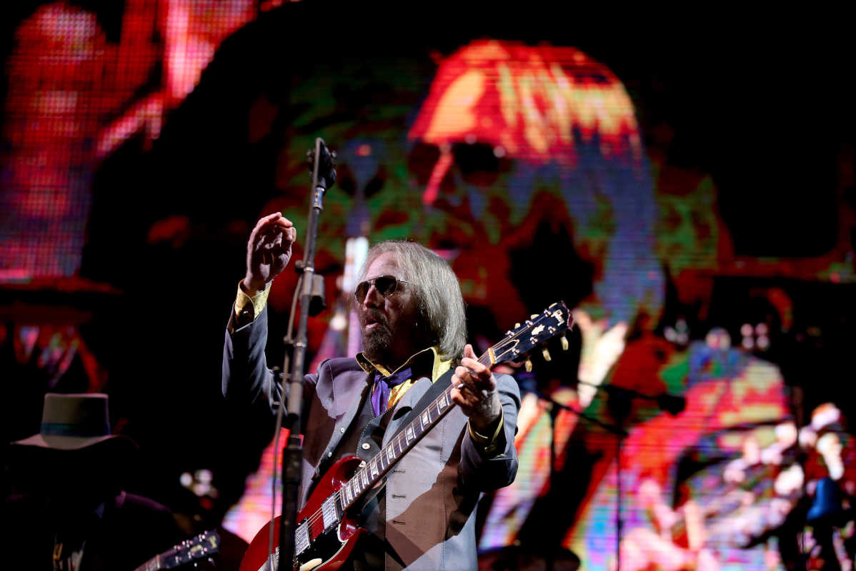 Rock and Roll Hall of Famer Tom Petty performs with the Heartbreakers on Day One of Arroyo Seco Weekend on Saturday, June 24, 2017 in Pasadena, Calif.