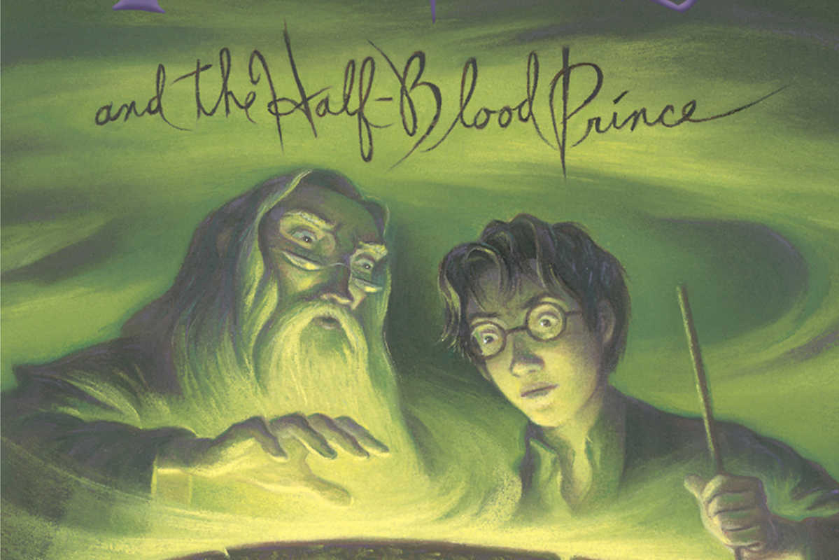 "This photo provided by Scholastic shows the book jacket of J.K. Rowling's ""Harry Potter and the Half-Blood Prince."""
