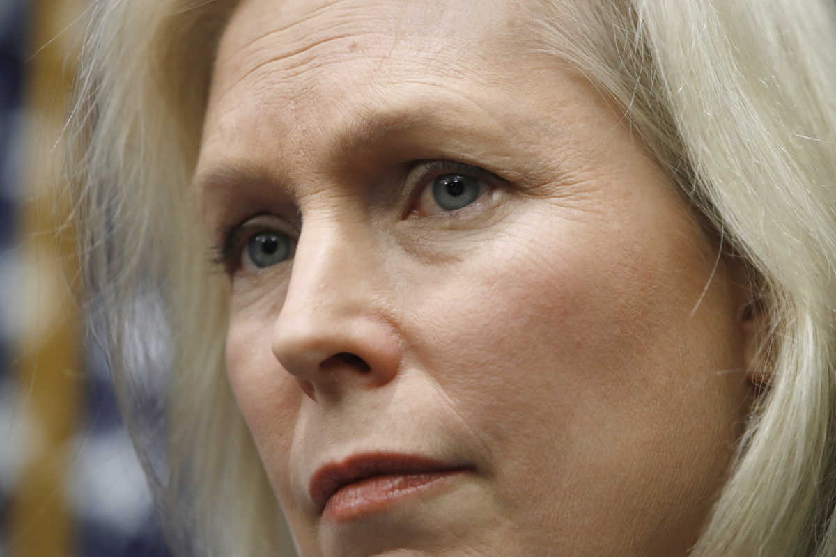 Sen. Kirsten Gillibrand (D., N.Y.) has called on President Trump to resign.<br />