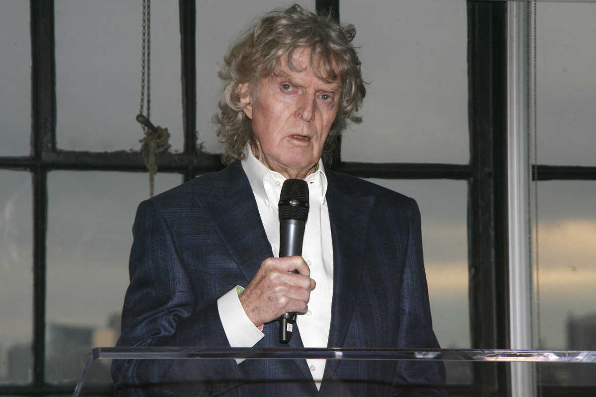 "Don Imus in a file photo from May 5, 2014 at a fundraiser in New York City. ""Imus in the Morning"" will air its final episode on March 29."