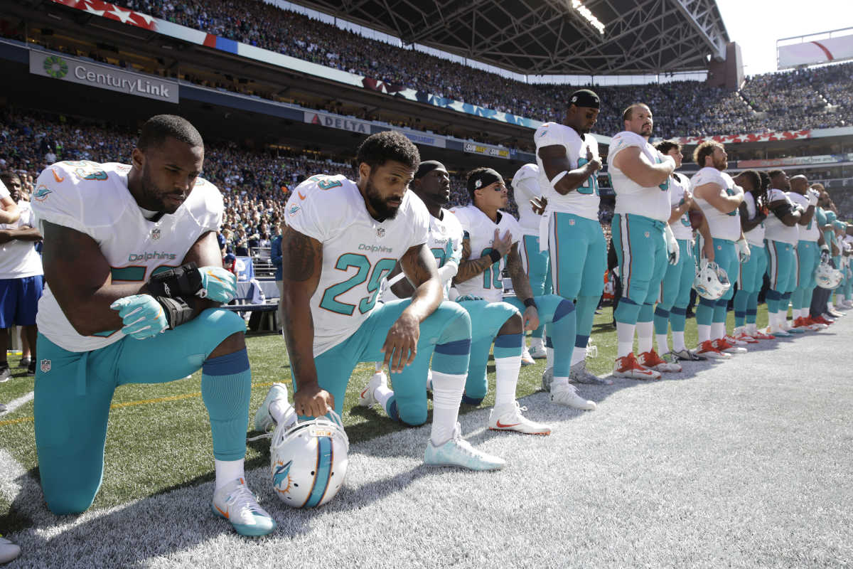 Dolphins players who protest this year will be punished, sometimes with suspensions.