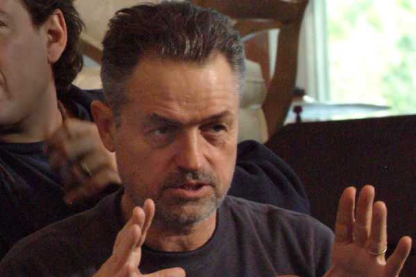 This undated photo provided by Material Culture, Jonathan Demme is photographed on a movie set.