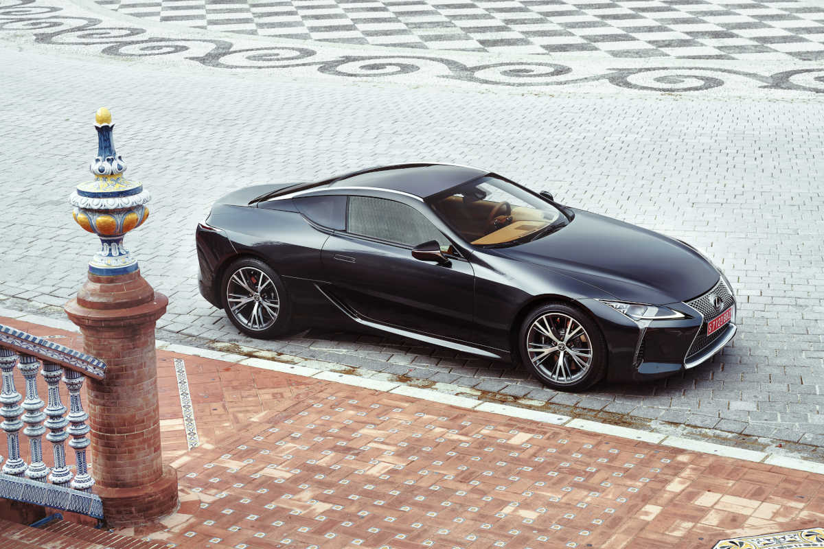 The 2018 Lexus LC500 emphasizes the Toyota premium brand's sportier side. Its starting price is expected to be $92,000; $96,000 for the hybrid version.