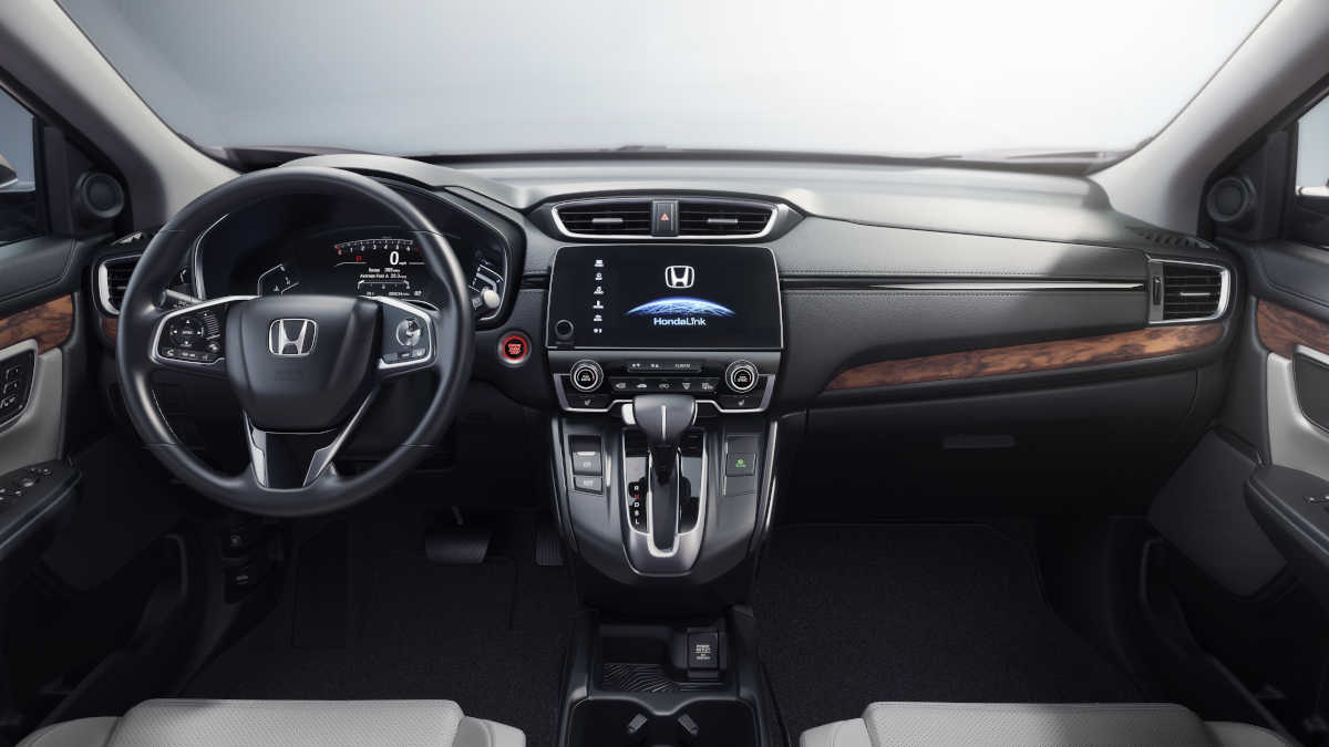 The interior is nice and comfortable, but the infotainment system is difficult.