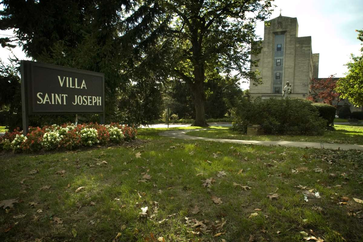 Villa St. Joseph, a facility in Darby that houses aging, retired priests and priests who have been accused of sexual abuse.