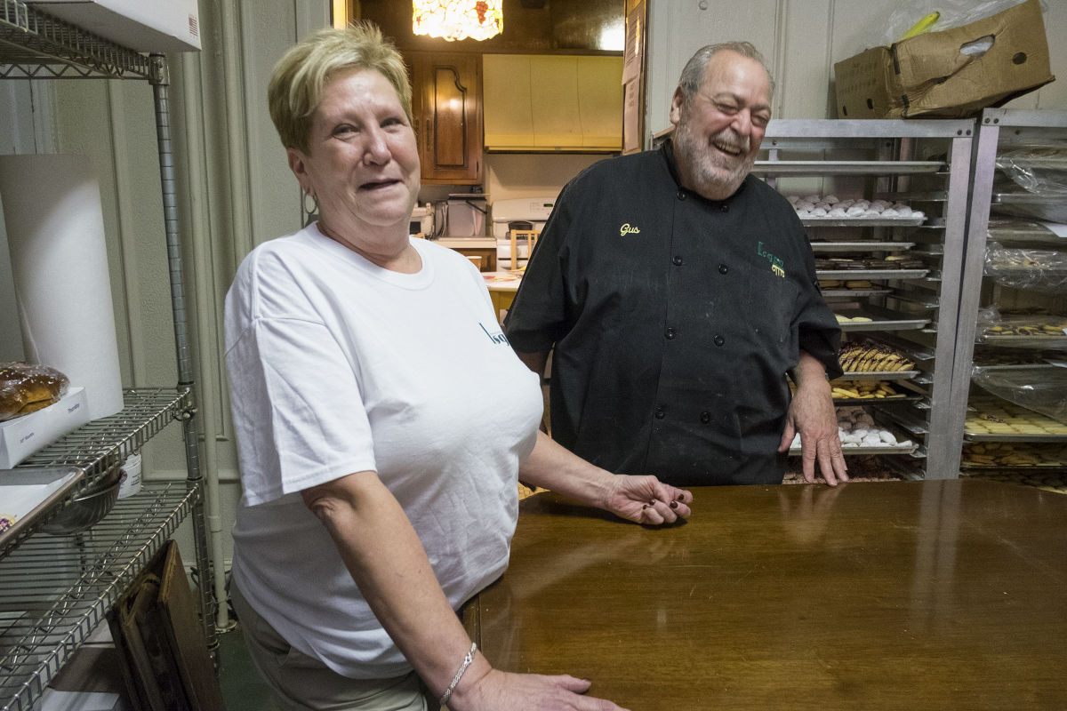 """For years, Isgro´s manager Denise Lauer has been trying to convince Gus to get rid of his grandmother Crucificia´s table. """"I would have to get rid of what I hold dear,"""" Gus says."""