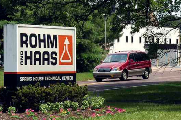MRA Group purchased the 133-acre Rohm & Haas site in Lower Gwynedd Township from the Dow Co. in March.