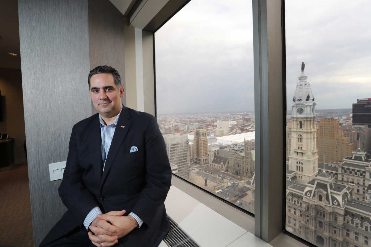 Former city managing director Rich Negrin is running for Philadelphia District Attorney.