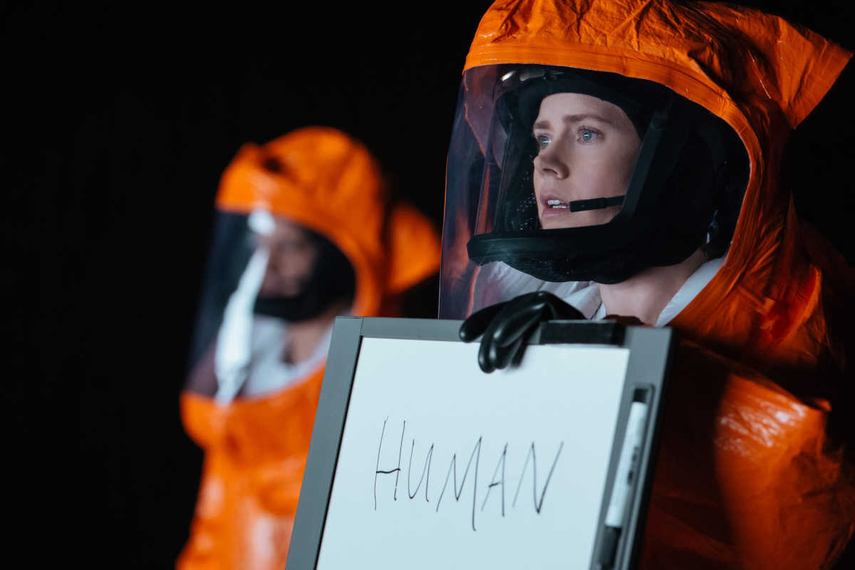 Amy adams on arrival nocturnal animals aliens acting and being a mom