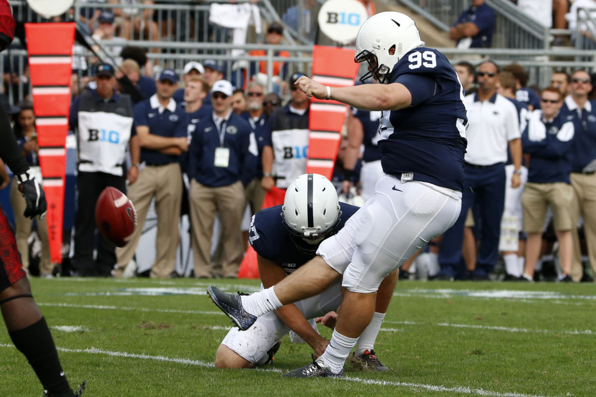 Penn State place kicker Joey Julius, who has been battling a weight problem,  has returned to treatment.<br /><br />