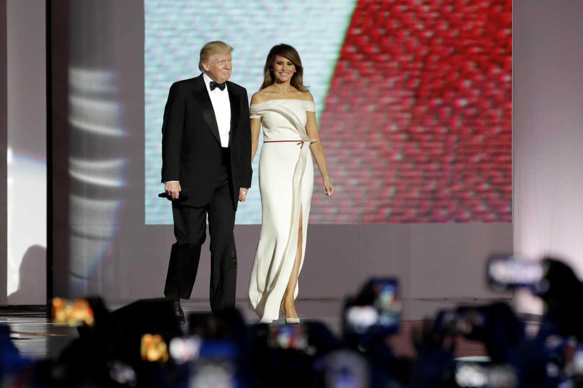 Melania Trump is clearly embracing her sexy as first lady: http://www.philly.com/philly/columnists/elizabeth_wellington/20170121_Melania_Trump__the_first_sexy_first_lady_.html