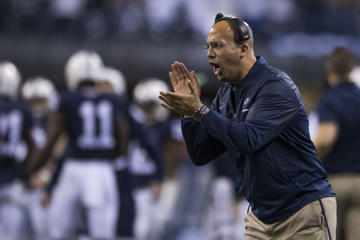 James Franklin said ha some pieces to fill heading into the summer.