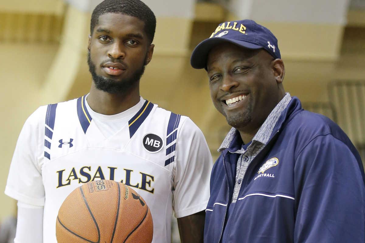 Jerardi Like his dad B J Johnson is a good fit at La Salle