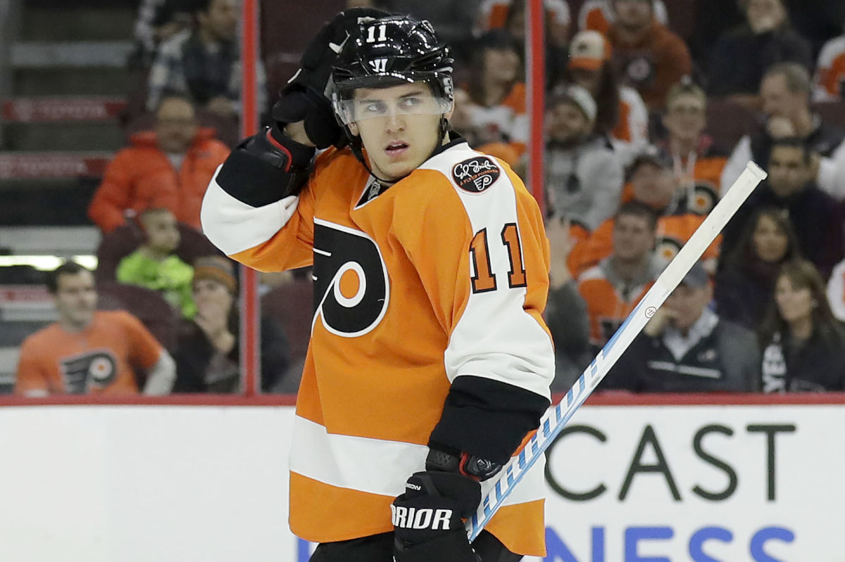 Travis Konecny is one of the young Flyers who give Dave Scott confidence.