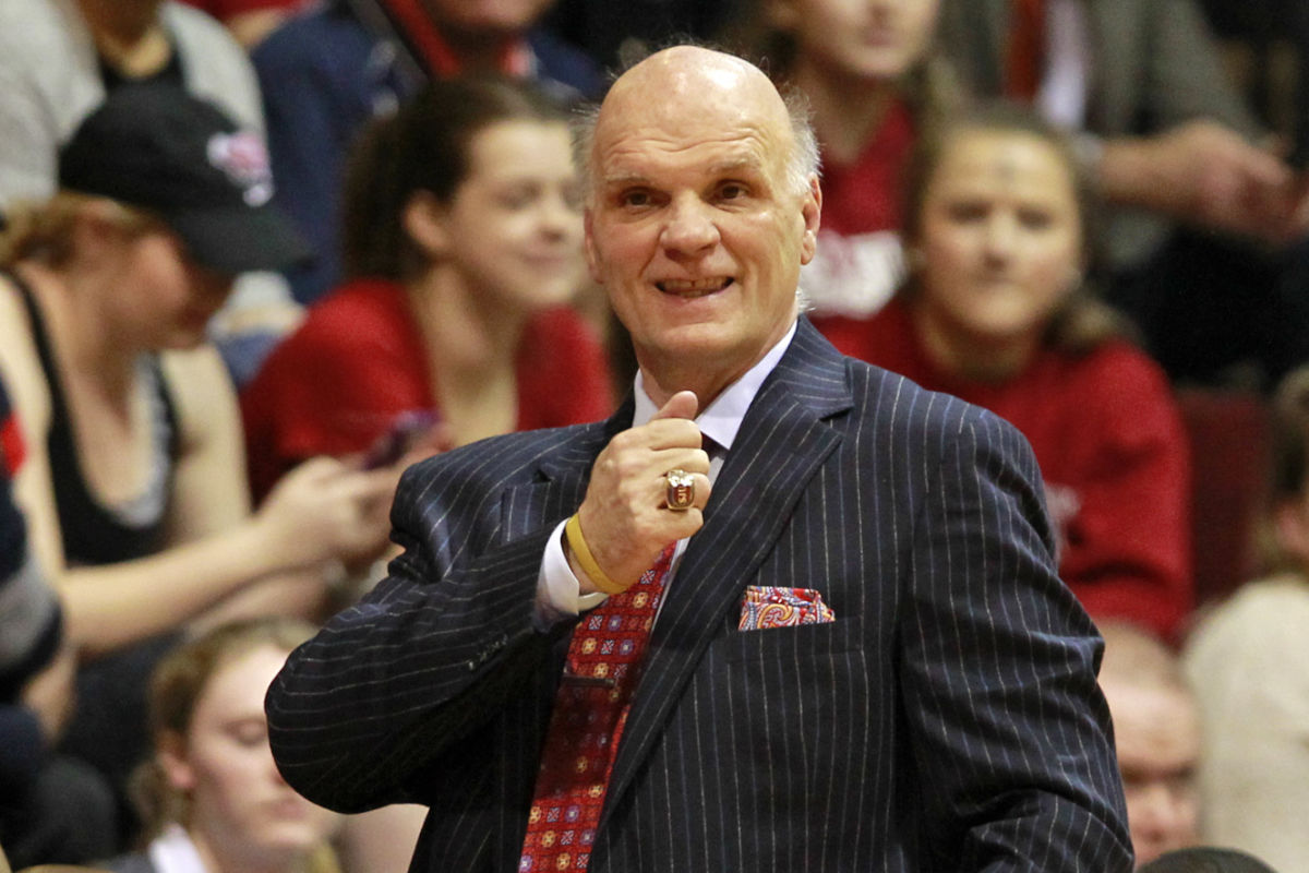 St. Joseph's coach Phil Martelli reacts as his team plays against Rhode Island in the first half of a college basketball game, Wednesday, March 1, 2017, in Philadelphia, Pa. ( H. Rumph Jr / For the Inquirer )