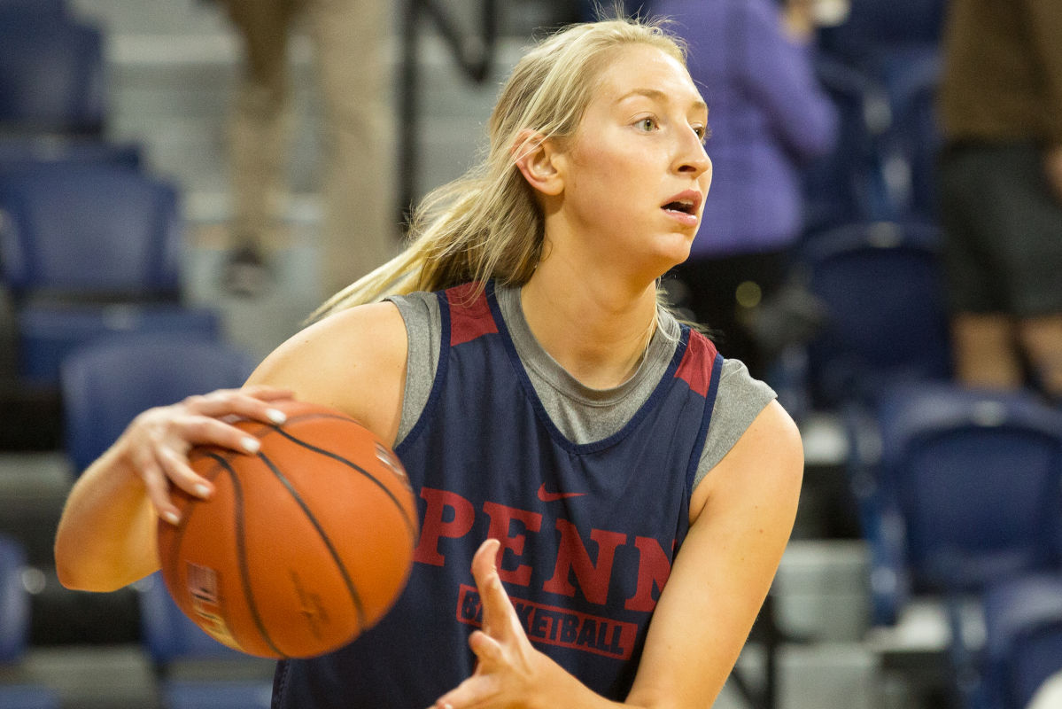 Sydney Stipanovich has enjoyed the four years she has starred at Penn.<br />
