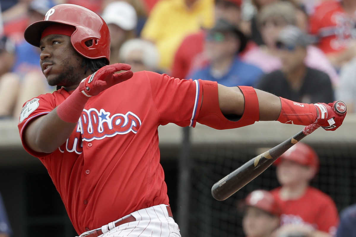 Maikel Franco´s work in spring training is starting to pay off.