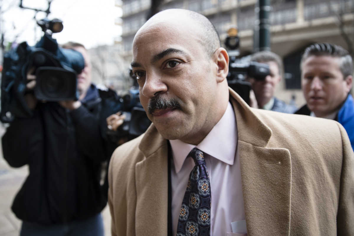 Philadelphia District Attorney Seth Williams´ political action committee was hit with an ethics fine while a businessman accused of bribing him may be cooperating with federal prosecutors. (AP Photo/Matt Rourke)