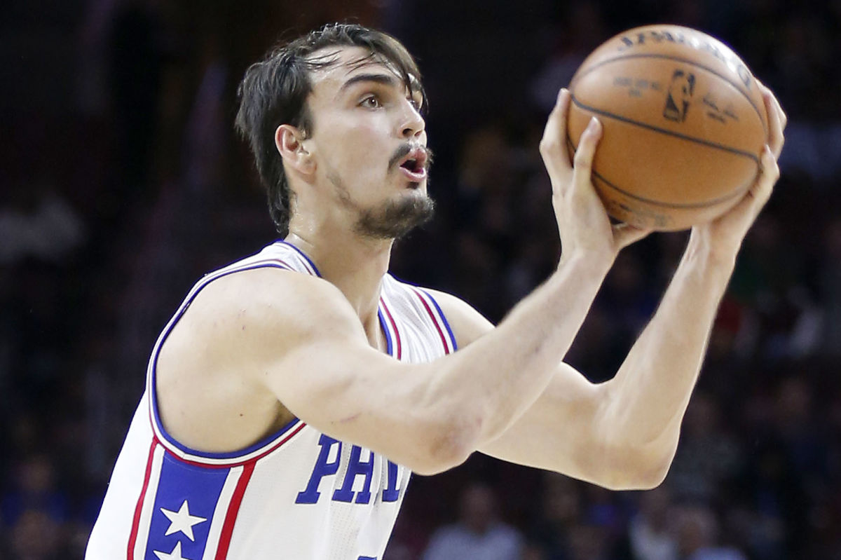 Philadelphia 76ers forward Dario Saric was a unanimous selection to the 2016-17 NBA All-Rookie team.