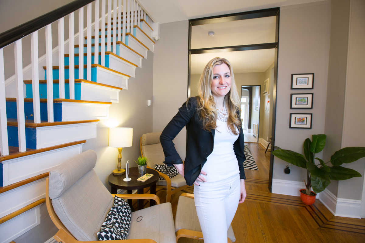 Chrissy Hartman has been operating this Airbnb in Philly for about two years in South Philadelphia,  earning tens of thousands of dollars annually.