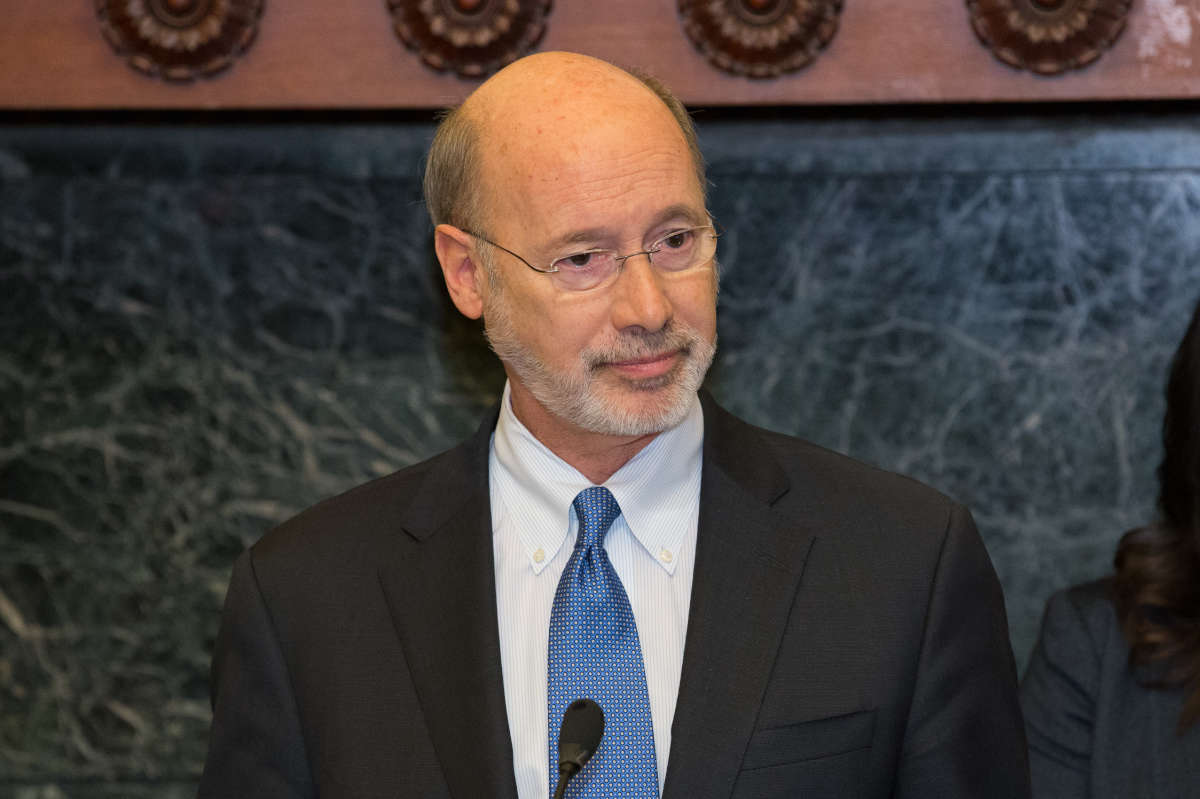 Gov. Wolf signed off on the tax amnesty program.