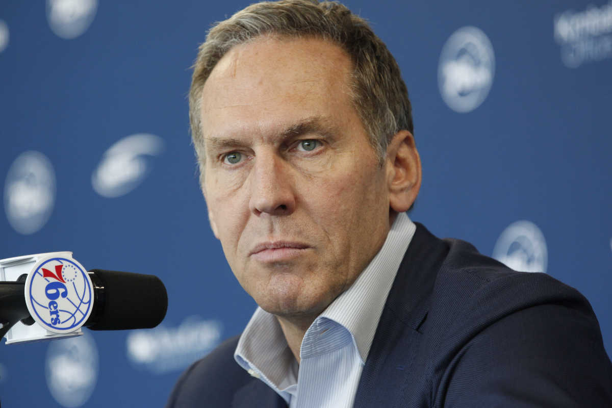 Sixers president Bryan Colangelo has been secretive with news about the injured players this season.