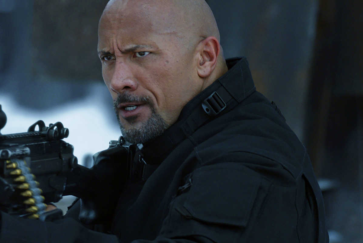 Dwayne Johnson in &amp;#039;The Fate of the Furious.&amp;#039;<br />