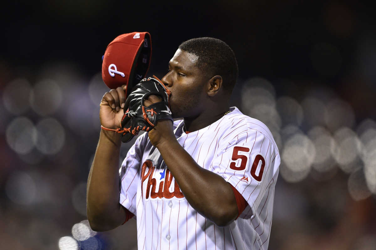 The Philadelphia Phillies´ four core relief pitchers - Hector Neris, Joaquin Benoit, Pat Neshek and Edubray Ramos - have not allowed an earned run since May 14.