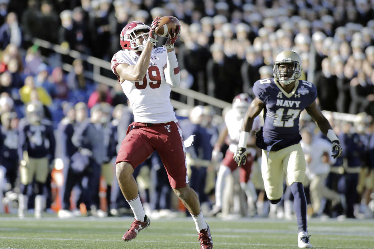 Temple beat Navy in last season's American Athletic Conference football championship game.