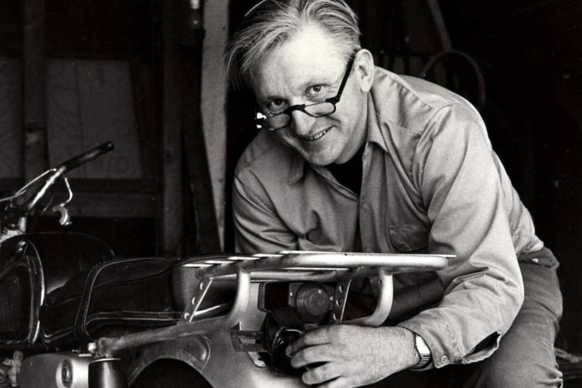 "This 1975 image released by William Morrow shows author Robert M. Pirsig working on a motorcycle. Pirsig, whose novel ""Zen and the Art of Motorcycle Maintenance"" became a million-selling classic after more than 100 publishers turned it down, died at his home in South Benwick, Maine on Monday.<br />"