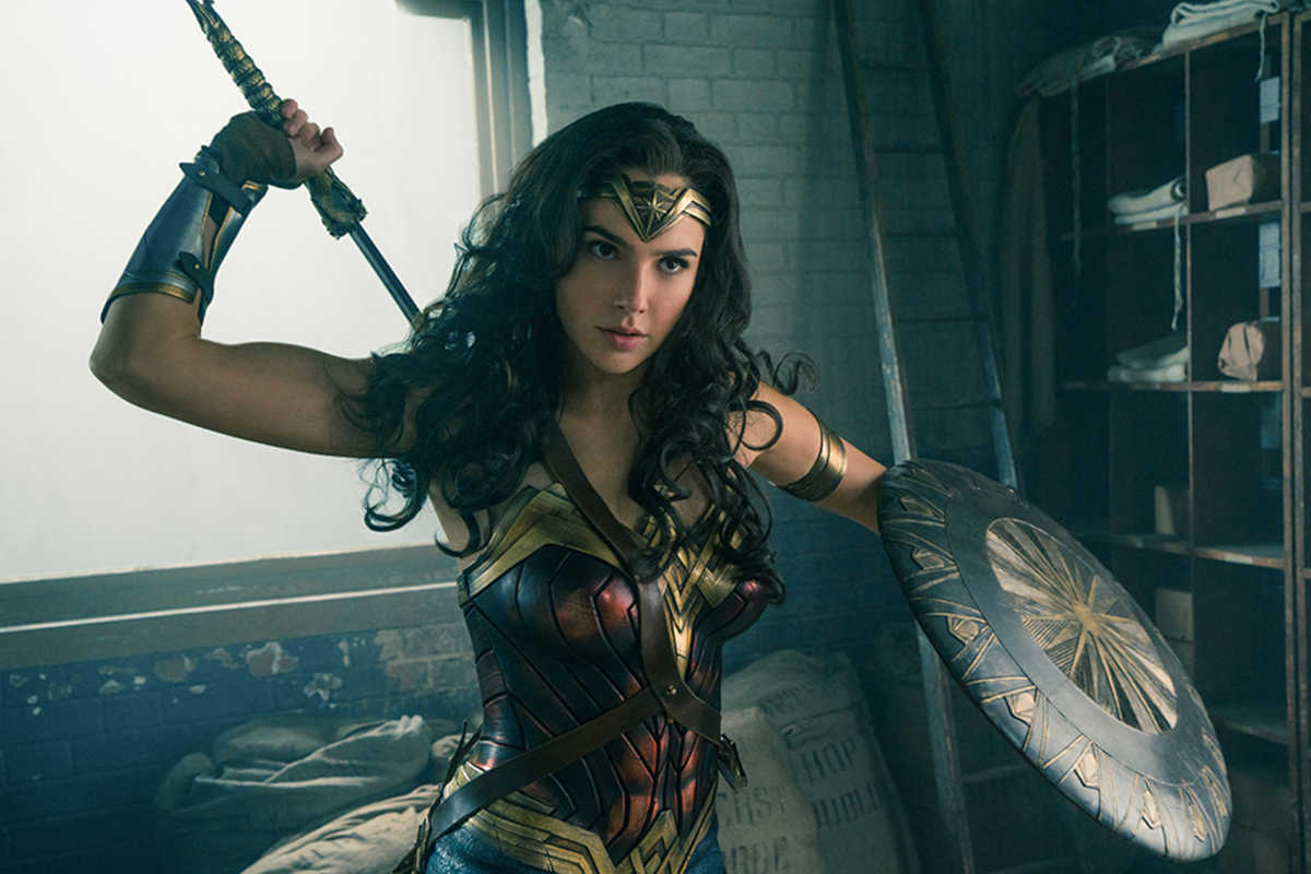 Gal Gadot as Wonder Woman in Warner Bros. Pictures' action adventure 'Wonder Woman.'