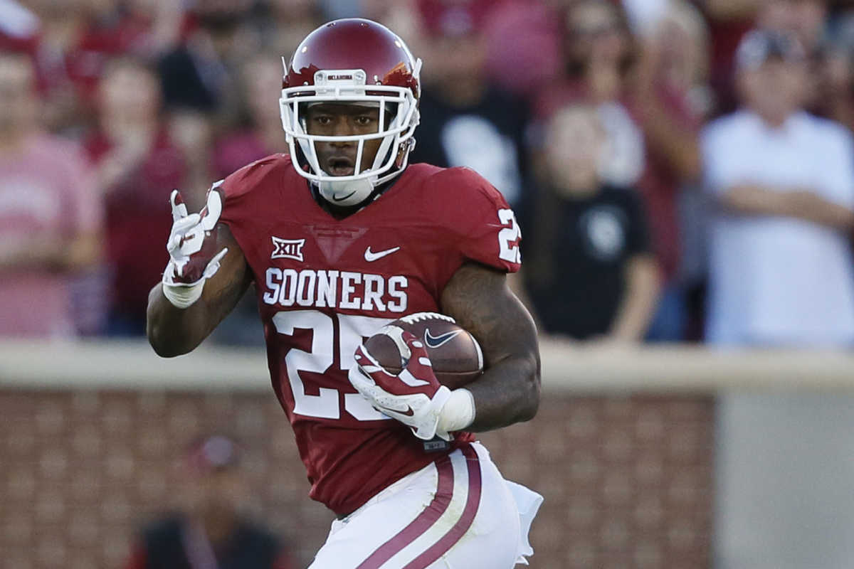 Okahoma´s Joe Mixon will likely drop in the draft due to a 2014 incident in which he punched a woman.