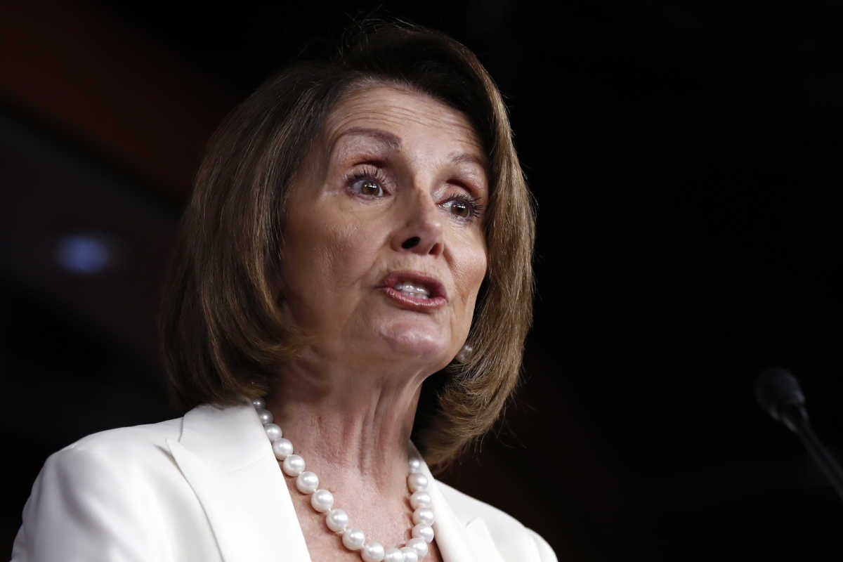 &quot;We are never going to shut government down. In fact, we don&acute;t even have the power to do so,&quot; House Minority Leader Nancy Pelosi (D., Calif.) said. <br />