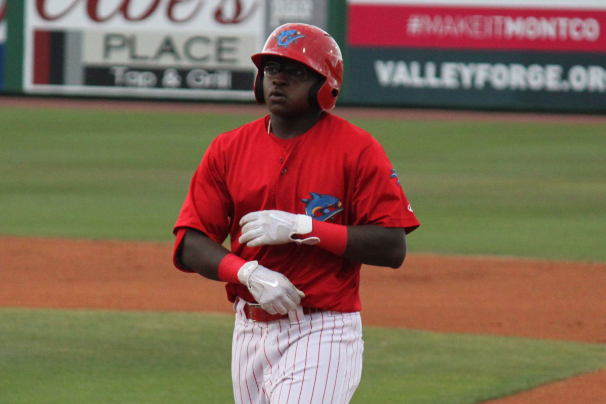 Phillies outfield prospect Cornelius Randolph has started the season strong for the single-A Clearwater Threshers.