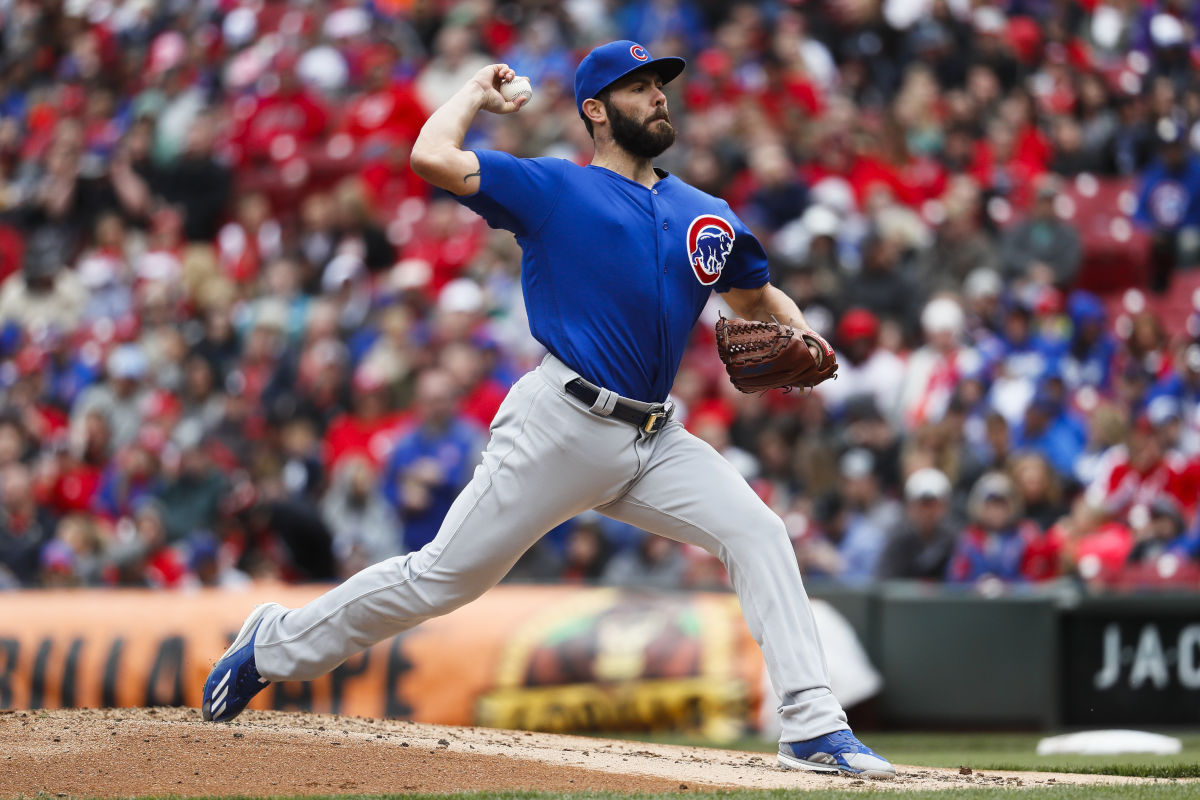 Cubs starter Jake Arrieta is scheduled to be a free agent after this season.