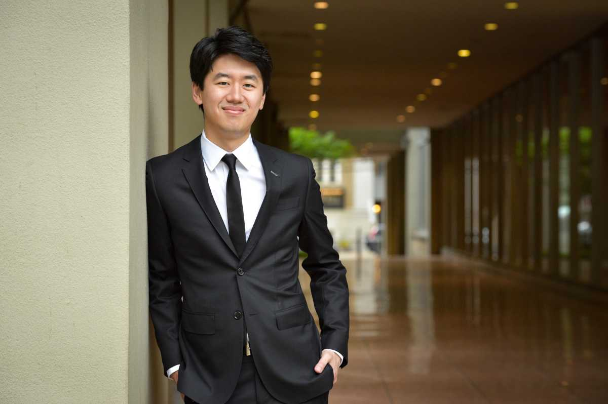 Kensho Watanabe, assistant conductor of The Philadelphia Orchestra, who conducted Curtis Opera Theatre in La Rondine.