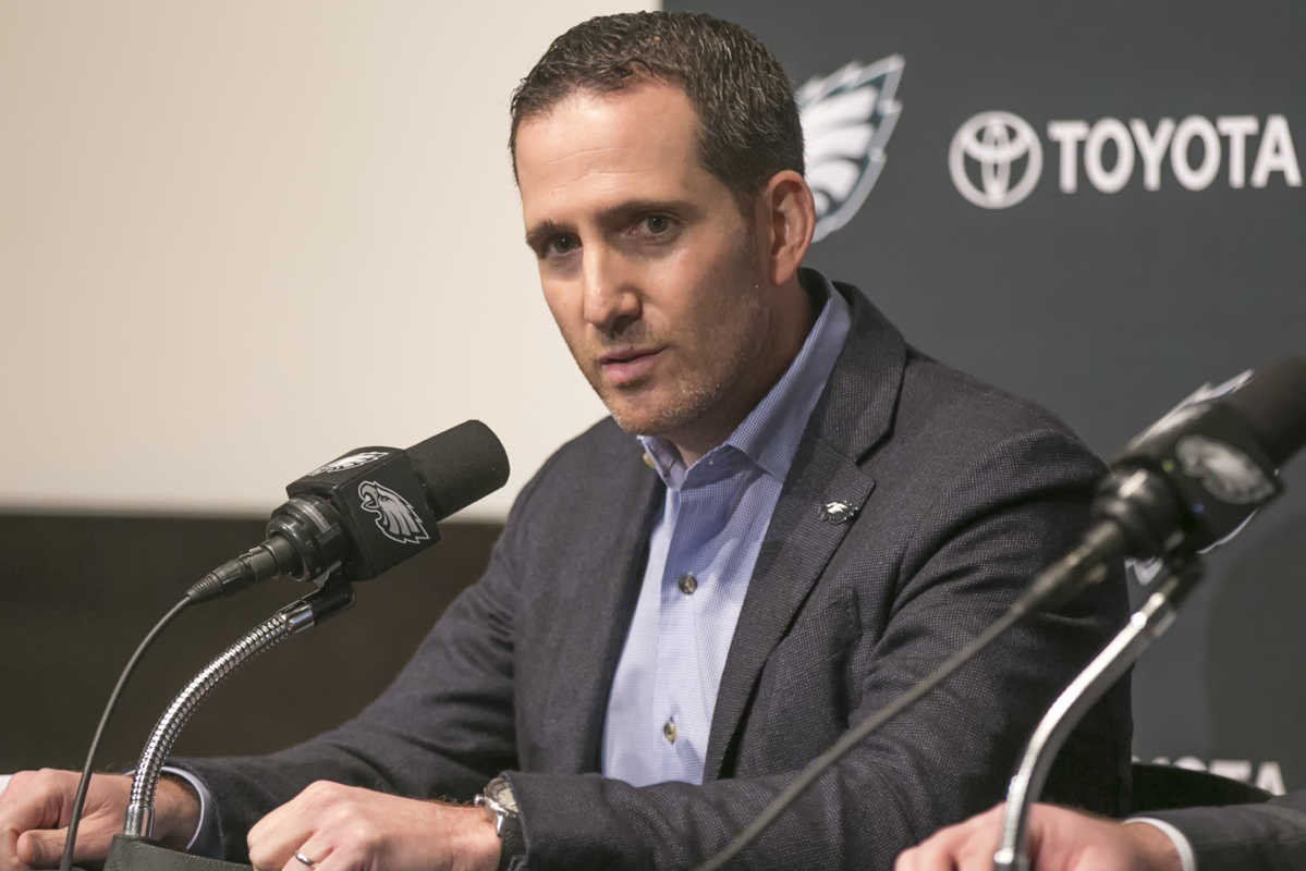 Friday  March 10, 2017  Howie Roseman, Executive Vice President of Football Operations for the Philadelphia Eagles  talks about recent changes and expectations for the team.