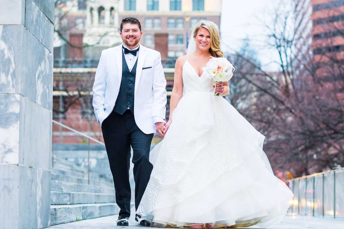 Couple: Melissa Hartman and D.J. Polis.