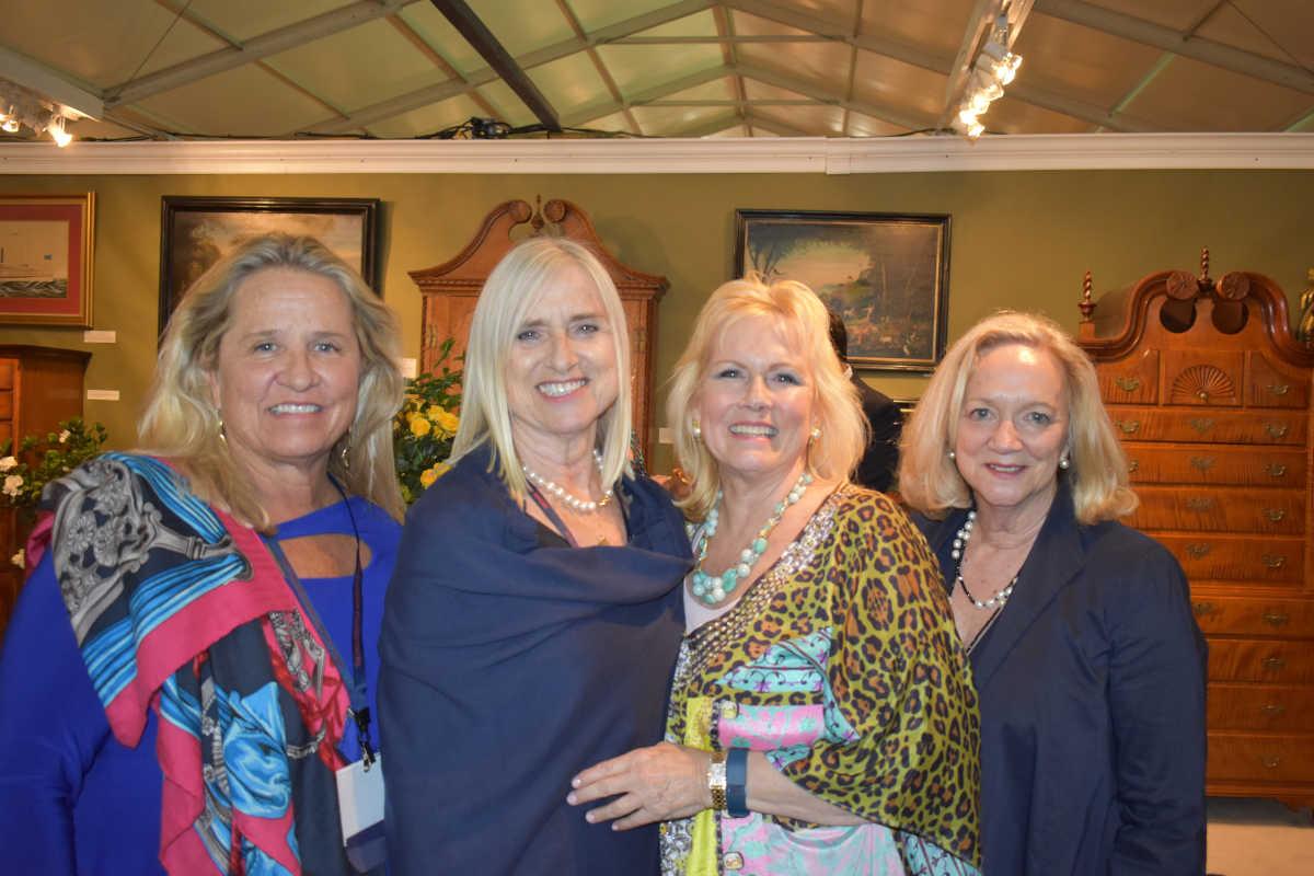 Anne Hamilton, Grete Greenacre, Ann Conlin Tanenbaum, and Ann Calvert.<br />